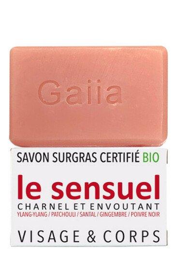 Savon Surgras Parfumé Vegan - Le Sensuel - Gaiia