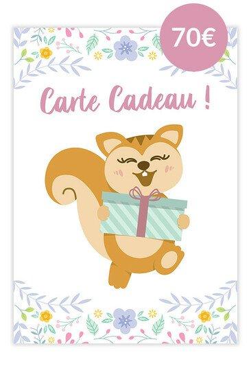 Carte Cadeau Ayanature - 70€