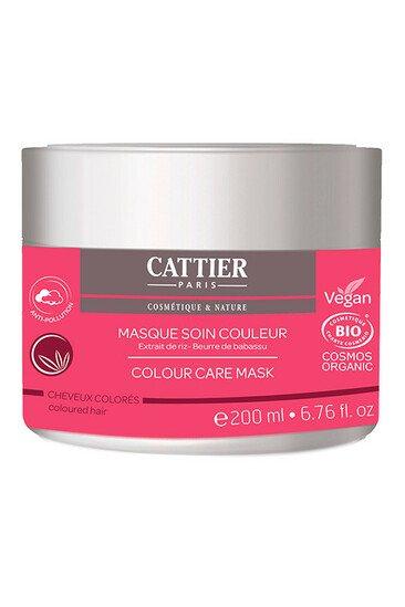 Masque Bio Soin Couleur - Cheveux colorés - Cattier