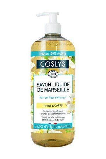 Savon Liquide Bio de Marseille - Fleur d'Oranger - Coslys