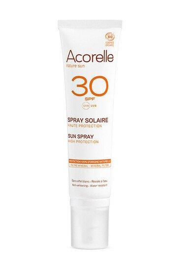 Spray Solaire SPF 30 Haute Protection - Acorelle