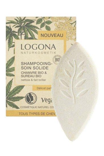 Shampoing Soin Solide - Chanvre & Sureau Bio - Logona