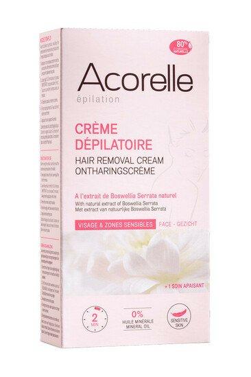 Crème Dépilatoire Haute Protection Visage et Zones Sensibles Acorelle
