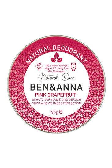Déodorant Bio Crème - Pamplemousse Rose - Ben & Anna