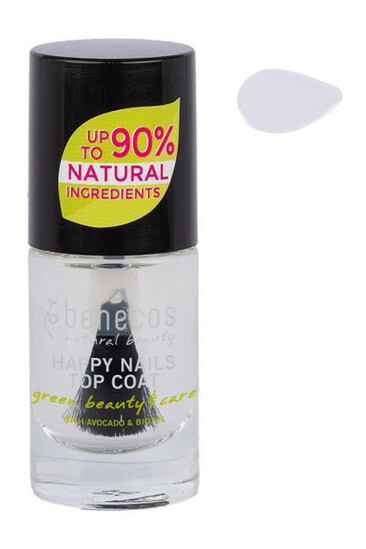 Vernis à Ongles Vegan transparent -  Benecos