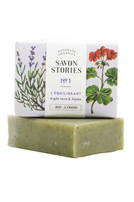 Savon n°1 Equilibrant - Argile Verte & Jojoba - Savon Stories
