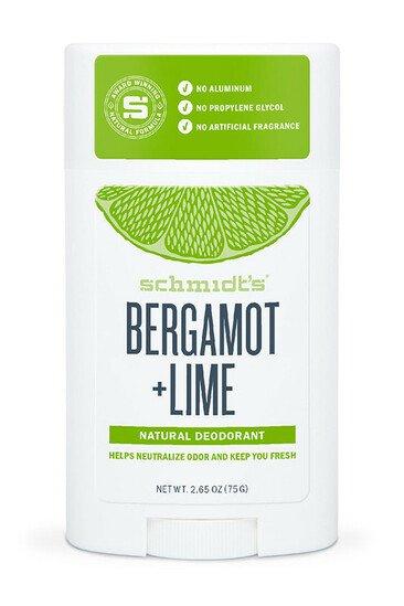 Déodorant Stick Bergamote & Citron Vert - Schmidt's