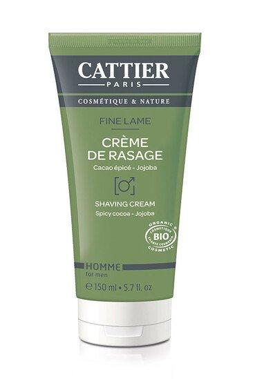 Crème de Rasage Bio - Fine Lame- Cattier