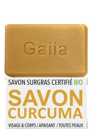 Savon Surgras Neutre Vegan - Curcuma - Gaiia