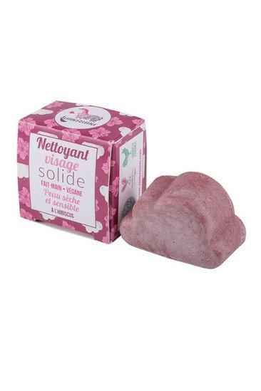Nettoyant Visage Solide Peau Sèche - Hibiscus - Lamazuna