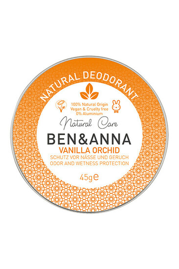 Déodorant Bio Crème - Vanille Orchidée - Ben & Anna