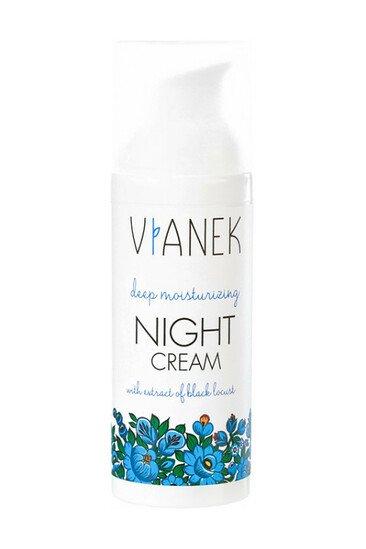 Crème de Nuit Ultra Hydratante - Peaux Sèches & Sensibles - Vianek