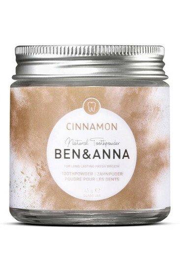 Dentifrice en poudre à la cannelle Bio & Vegan - Ben & Anna