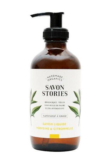 Savon Liquide Bio - Verveine & Citronnelle - Savon Stories