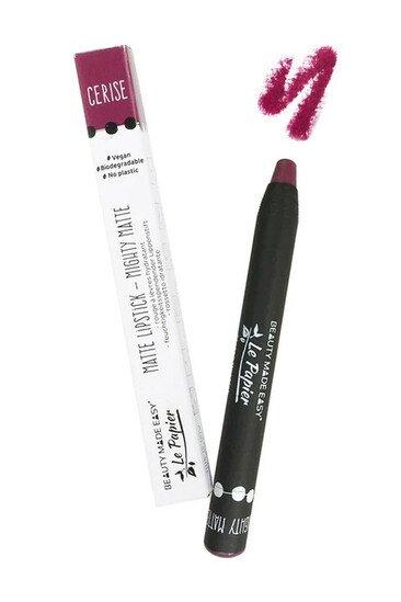 Rouge à Lèvres Zéro Déchet & Vegan - Mat - Le Papier