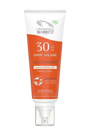 Spray Solaire Bio - Algamaris - Laboratoires de Biarritz