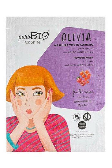 Masque Peel-Off Peau Grasse - Olivia - Purobio