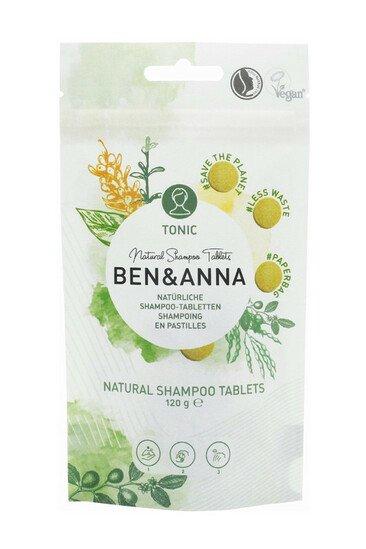 Shampoing Tonic en Pastille - Ben & Anna