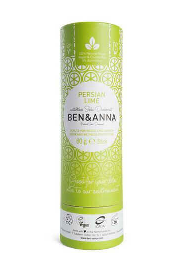 Déodorant Naturel Tube en Carton - Persian Lime - Ben & Anna