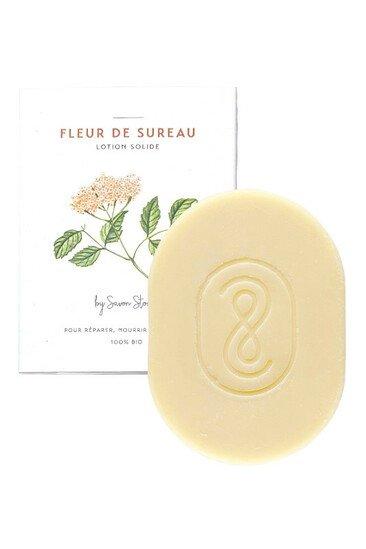 Baume Solide Bio - Fleur de Sureau - Savon Stories