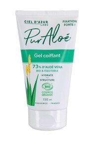 Gel Coiffant Fixation Forte - Aloé Vera 73% - Pur Aloé