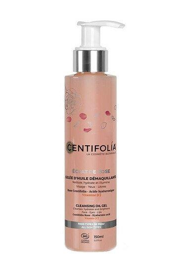 Gelée d'Huile Démaquillante Bio - Éclat de Rose - Centifolia