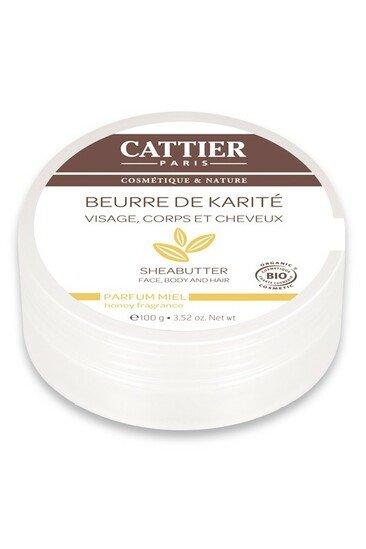 Beurre de Karité Bio - Parfum Miel - Cattier