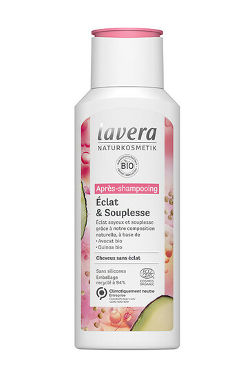 Après-Shampooing Vegan Éclat & Souplesse - Lavera