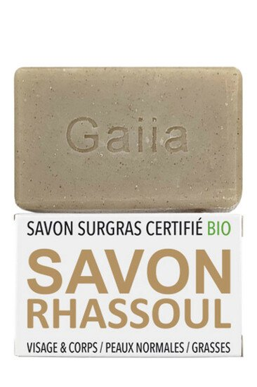 Savon Surgras Neutre Vegan - Rhassoul - Gaiia