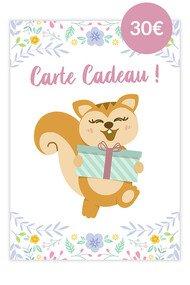 Carte Cadeau Ayanature - 30€