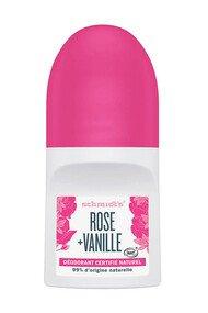 Déodorant Roll-On Vegan - Rose & Vanille - Schmidt's