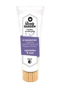 Masque Bio Visage & Cheveux Cassis & Carotte Violette - Beauty Garden
