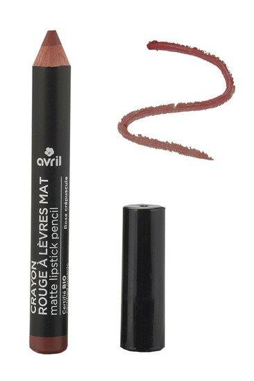 Crayon Rouge à Lèvres Mat Bio - Avril