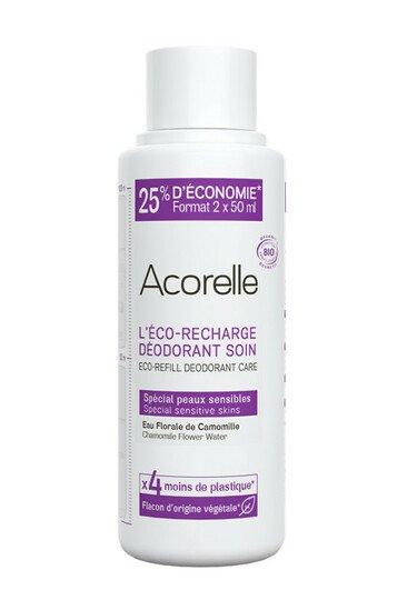 Eco-recharge Déodorant Bio Peaux Sensibles - Acorelle