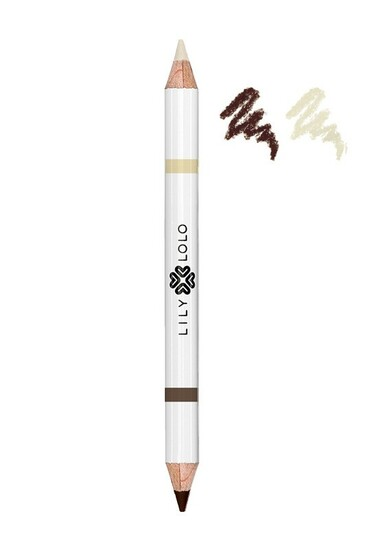 """Crayon Vegan 2 en 1 Sourcils  """"Brown Duo Pencil"""" - Lily Lolo"""