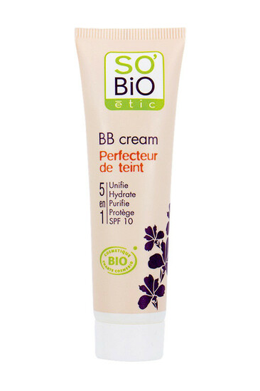 BB Cream Bio 5 en 1 Perfecteur de Teint SO'BiO étic