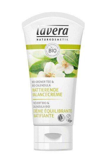 Crème Vegan Equilibrante Matifiante au Thé Vert - Lavera
