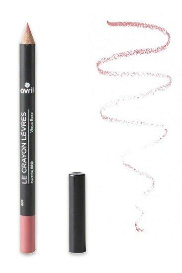 "Crayons à lèvres bio ""Nude"" Avril"