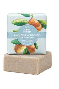 Shampoing Solide Bio Rhassoul - Cheveux Gras - Savon Stories