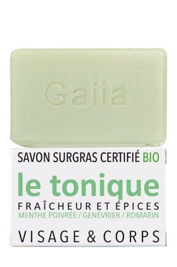 Savon Surgras Parfumé Vegan - Le Tonique - Gaiia