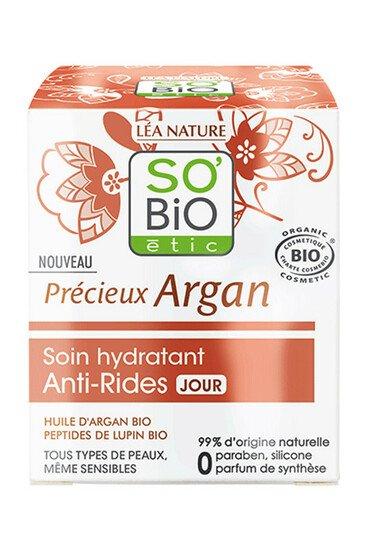 Soin Hydratant Bio Anti-Rides Jour - Précieux Argan - SO'BIO étic