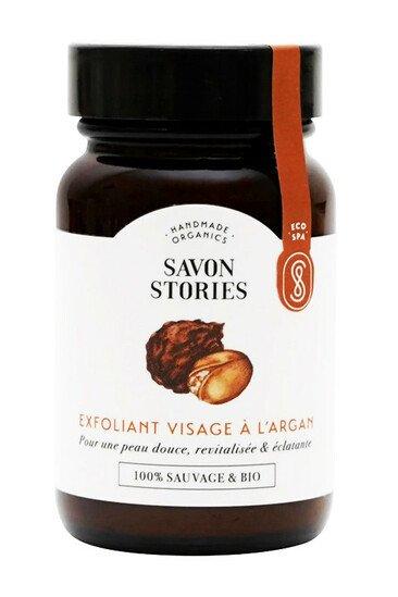 Exfoliant Visage Bio à l'Argan - Savon Stories