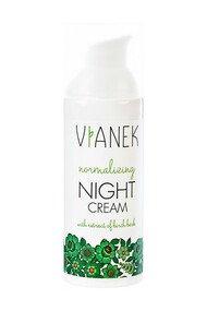 Crème de Nuit Équilibrante - Peaux Grasses Acnéiques - Vianek