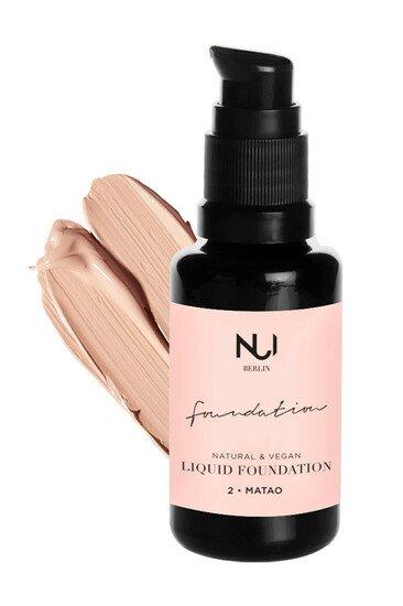 Fond de teint liquide - NUI Cosmetics