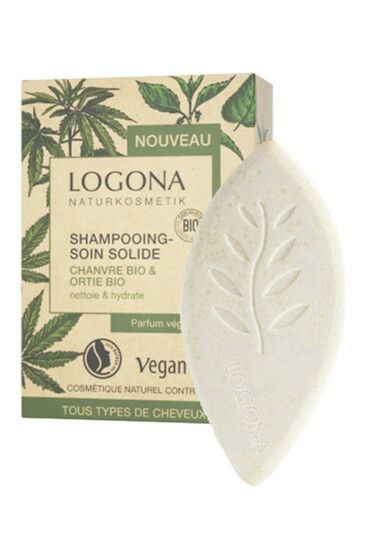 Shampoing Soin Solide - Chanvre & Ortie Bio - Logona