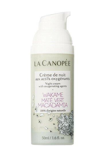 Crème de nuit Vegan Actifs Oxygénants - La Canopée