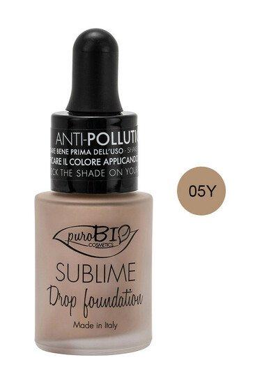 "Fond de Teint ""Sublime Drop"" Bio & Vegan - Teinte 2 - Purobio"